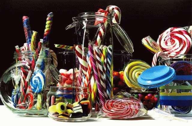 Roberto Bernardi et ses époustouflantes peintures de bonbons