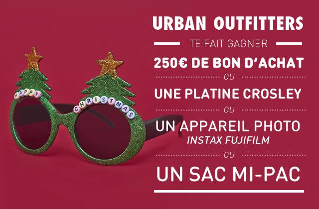 Urban Outfitters lance son concours de Noël pour les madmoiZelles !