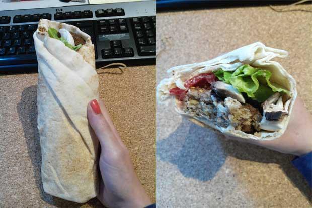 recette lunchbox wrap