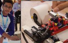 Un ado crée une imprimante braille avec des LEGO