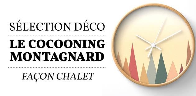 Sélection déco — Le cocooning montagnard façon chalet