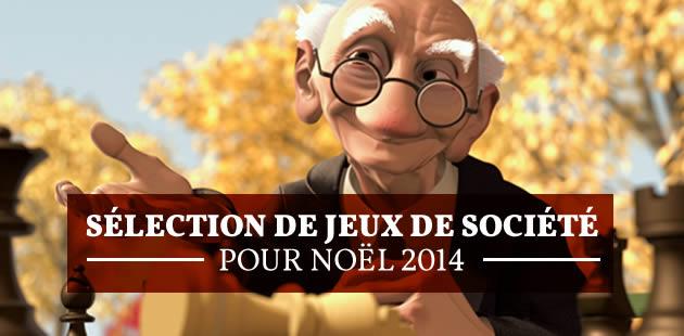 Sélection de jeux de société pour Noël 2014