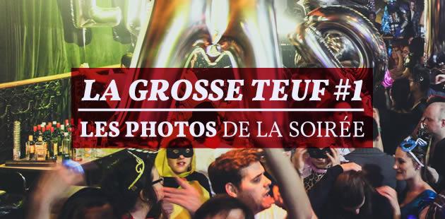 La #GrosseTeuf n°1 en photos — Hommage au Bataclan