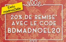 Bon Plan de Noël chez Pomm'Poire : 20% de réduction pour les madmoiZelles !