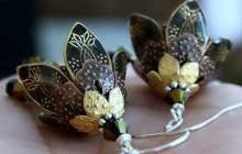 Les superbes boucles d'oreilles d'AmberSky sur Etsy — Idée cadeau cool