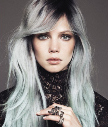 Shampoing cheveux colores gris