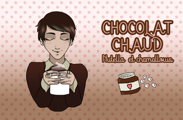 Le chocolat chaud du dimanche : Nutella-chamallows