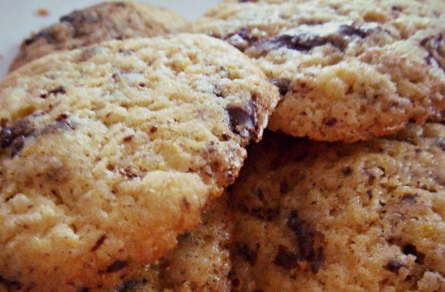 Cookies au chocolat et à l'orange — Recette hivernale