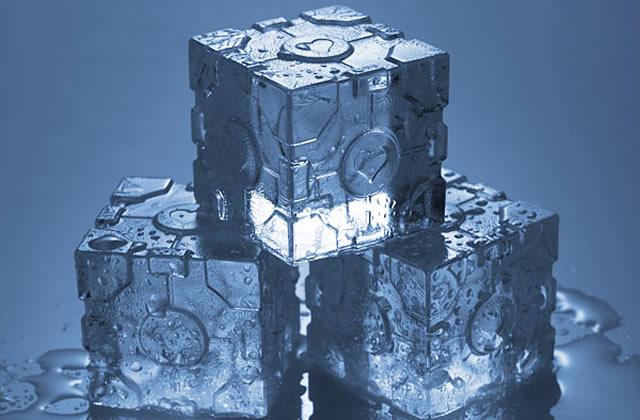 Le bac à glaçons Portal — Idée cadeau cool