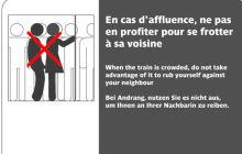 Le harcèlement dans les transports, bientôt des mesures concrètes ?