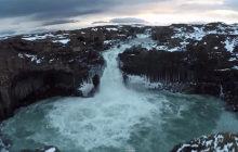 L'Islande survolée par un drone, une évasion féérique