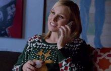 Kristen Bell et Dax Shepard célèbrent l'esprit de Noël pour Samsung