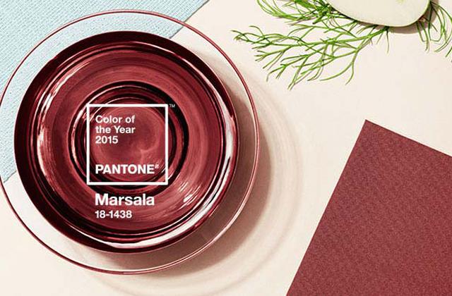 Comment porter Marsala, la couleur de l'année 2015 ?