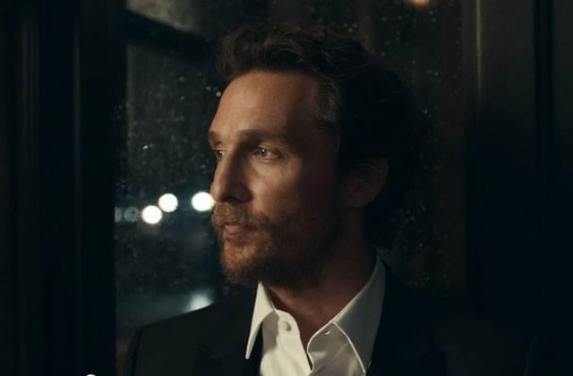Matthew McConaughey livre une prestation impressionnante dans ses pubs pour Lincoln Motor