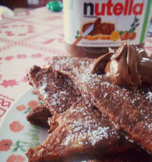 recette pain perdu chocolat