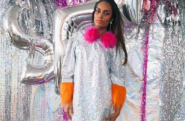 La robe de soirée argentée d'Asos – WTF Mode