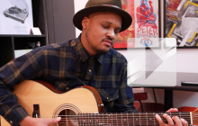 Son Little joue « Cross my heart » en acoustique guitare-voix