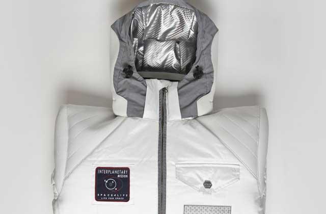 « SpaceLife Jacket », le manteau qui s'inspire des combinaisons spatiales