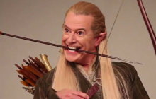 Stephen Colbert incarne les personnages du Hobbit pour Entertainment Weekly
