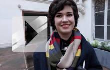 Apolline et son écharpe Dr Who font leur Street Style !