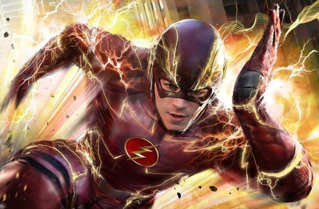 The flash une nouvelle s rie de super h ros r solument optimiste - Flash le super heros ...