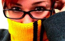 Tuto tricot — Une écharpe Harry Potter aux couleurs des maisons de Poudlard