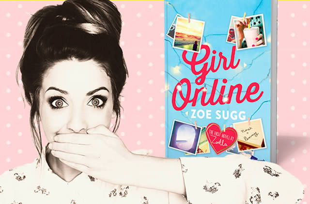 Zoella, youtubeuse de 24 ans, explose tous les records outre-Manche avec son roman «Girl Online »