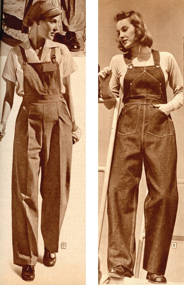 1940s-Dungarees
