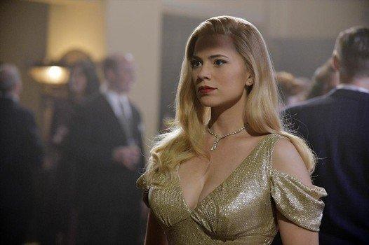 agent carter blonde