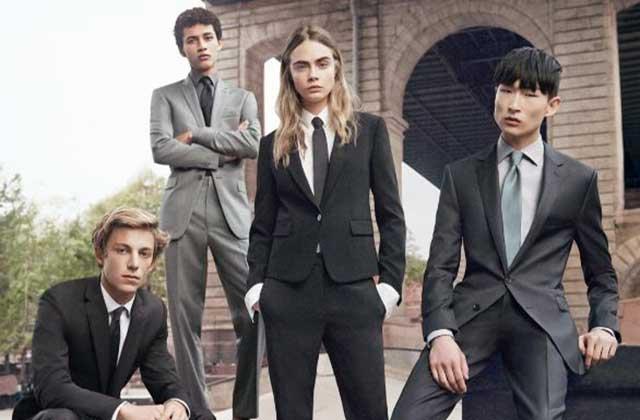 Cara Delevingne devient androgyne en représentant les lignes « hommes » et « femmes » de DKNY