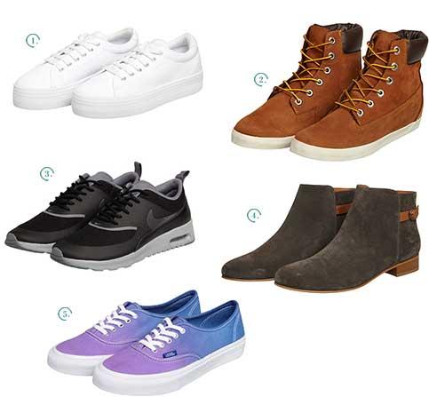 citadium selection chaussures