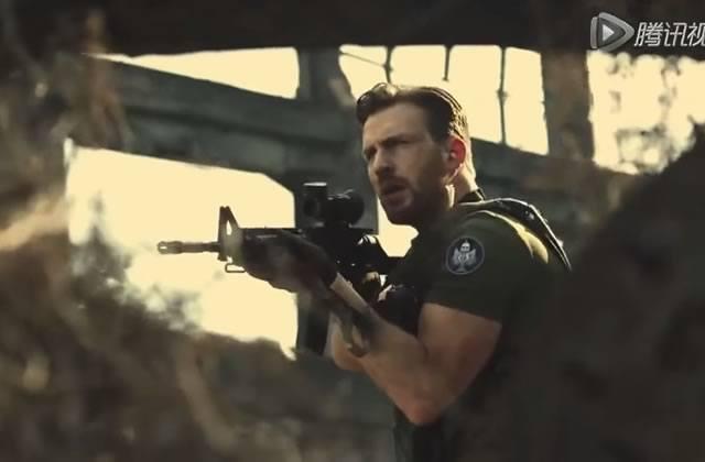 Chris Evans dans le spot de Call of Duty pour la télé chinoise