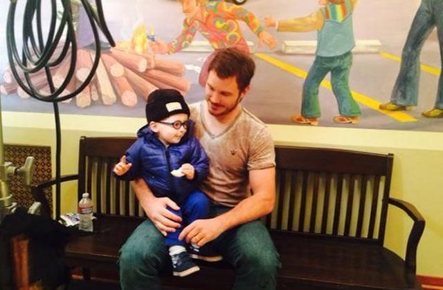 Chris Pratt tout ému en parlant de son fils Jack