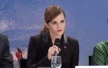 Emma Watson lance la seconde étape de HeForShe à Davos