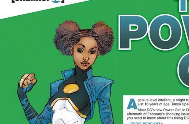 Une héroïne noire aux mensurations réalistes chez DC Comics