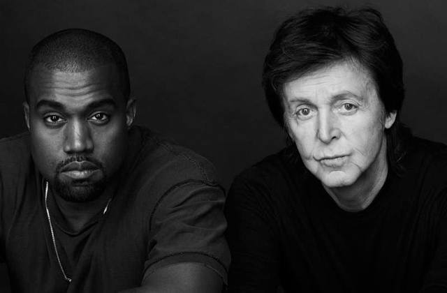 Kanye West sort une berceuse en duo avec Paul McCartney