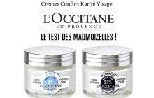 Crème Confort Karité de L'Occitane : le test des madZ !