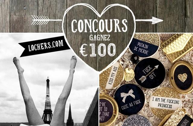 Locher's vous fait gagner 3×100€ en bons d'achat !