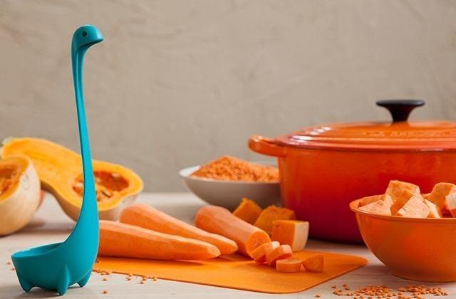 La louche « monstre du Loch Ness », pour pimper tes casseroles de soupe