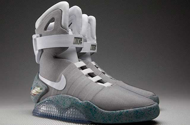 nike blanche marty mcfly