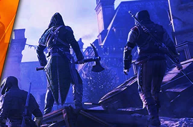 Player Lambda fout en l'air la Révolution Française dans Assassin's Creed Unity