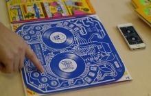 La pochette de vinyle interactive, par DJ QBert