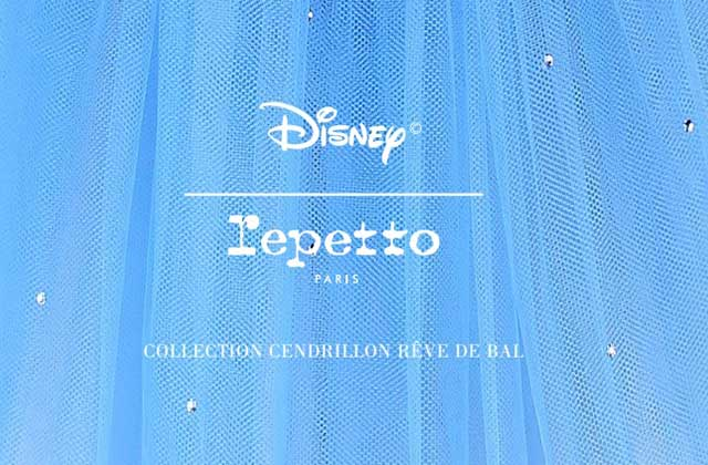 Repetto lance une collection inspirée de Cendrillon