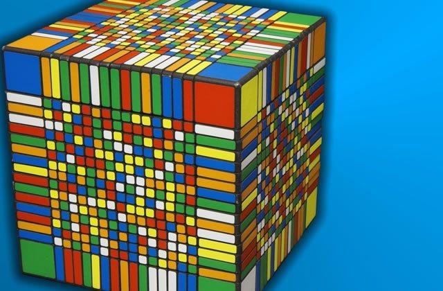 Le plus gros Rubik's Cube du monde a 66,9 quinquagintatrecentillions de combinaisons