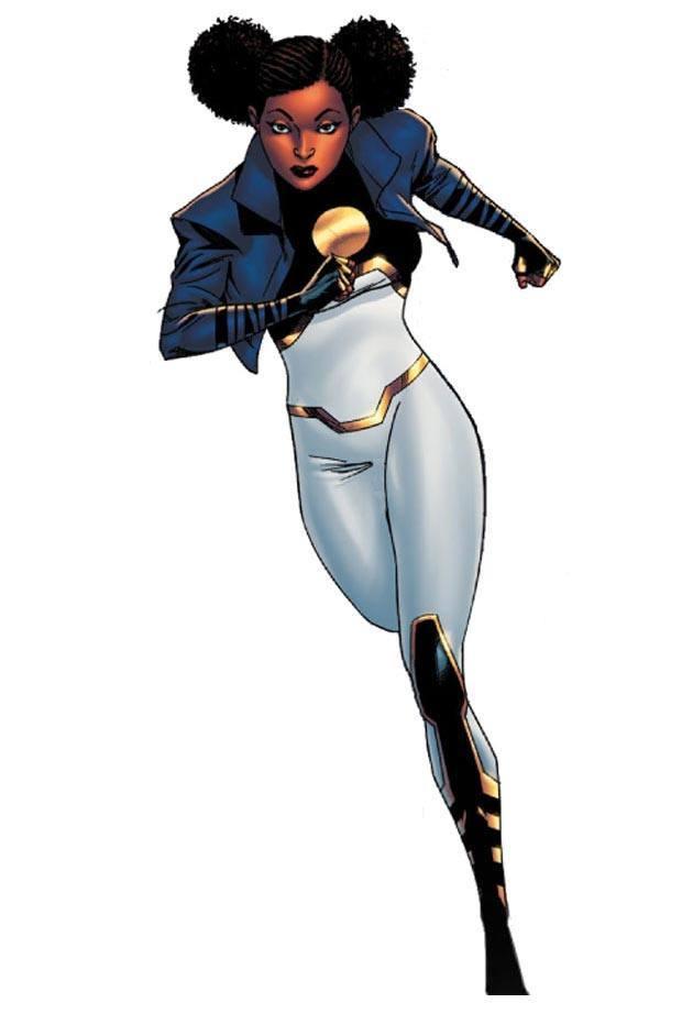 Plus adapté Une héroïne noire aux mensurations réalistes chez DC Comics VQ-93