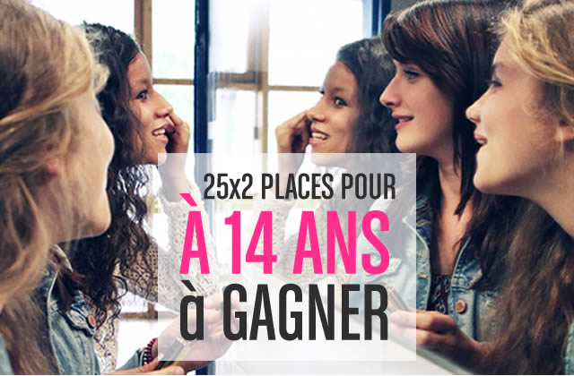 Concours — 25×2 places à gagner pour l'avant-première parisienne d'«À 14 ans» !