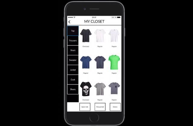 apparel paris l 39 appli mode qui cr e des tenues selon ta garde robe. Black Bedroom Furniture Sets. Home Design Ideas