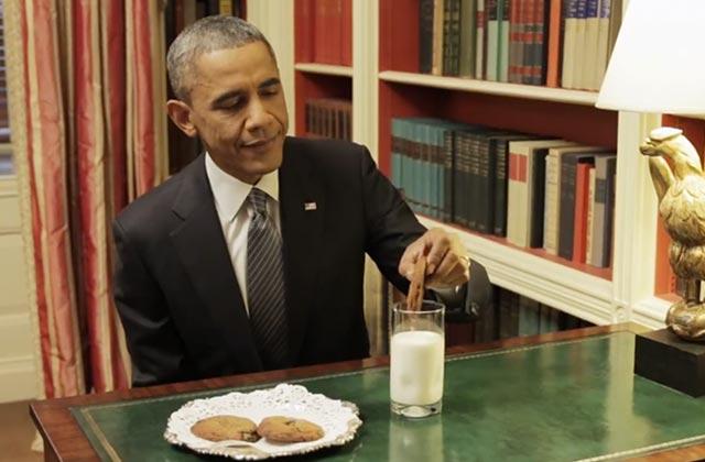 Barack Obama est un homme comme tout le monde dans une vidéo rigolote