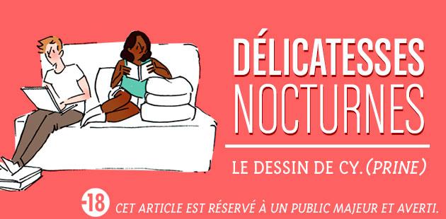 Délicatesses nocturnes — Le dessin de Cy.(prine)