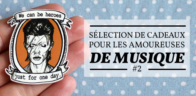 Sélection de cadeaux pour les amoureuses de musique #2